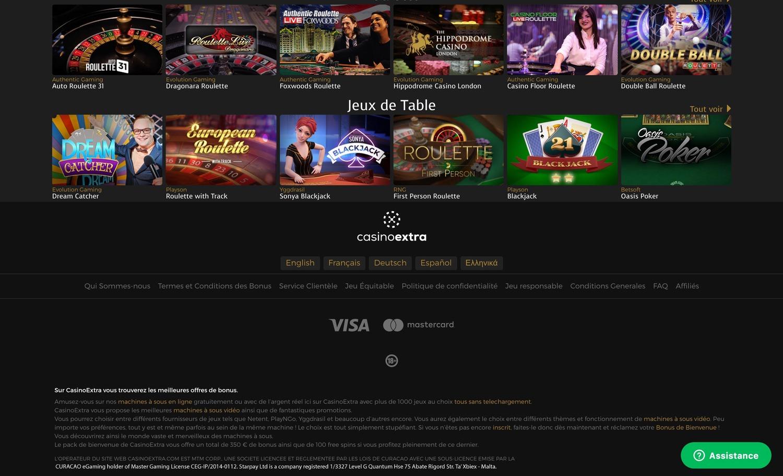 Retrait Extra casino : commenter retirer ses dus chez Extra !