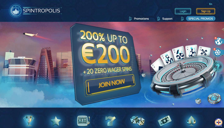 Spintropolis casino : à lire avant de s'inscrire !